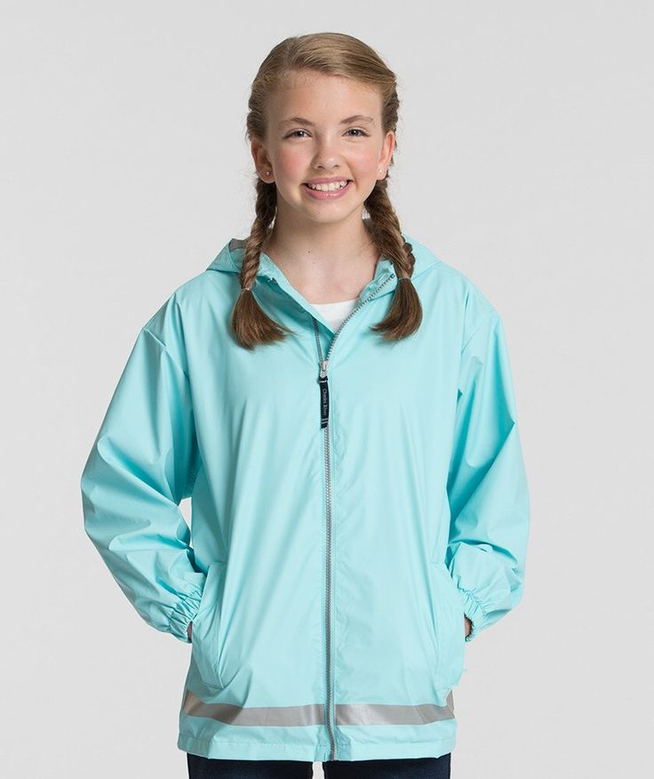 Charles River Children's Youth Monogrammable Rain Jacket Sale by VintageKTeesAndMore on Etsy https://www.etsy.com/listing/469836356/charles-river-childrens-youth