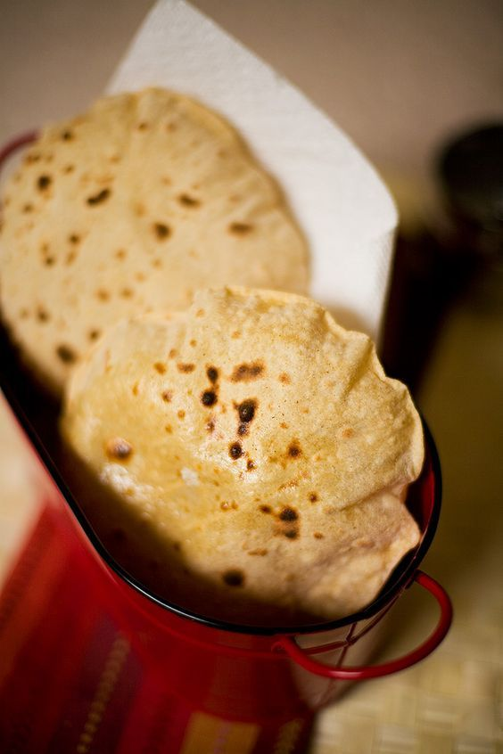 Roti (aka Flat Top Grill bread) -  this recipe is perfect for Daniels fast if following the directions of using wheat flour.