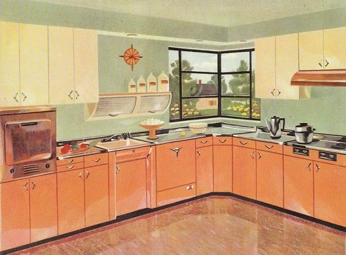 318 best retro køkken images on Pinterest Kitchens, Retro