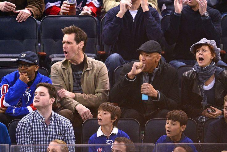 Spike Lee, Jim Carrey, and Susan Sarandon