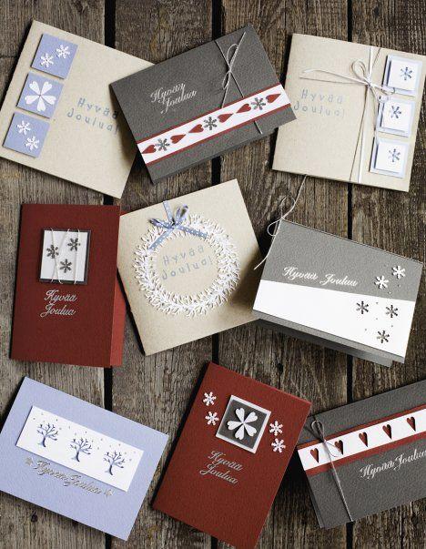 Joulukalenteri luukku 2: Askartele helpot joulukortit ja voita Rakas villasukka -kirja - Joulu 2014 - Kodin Kuvalehti