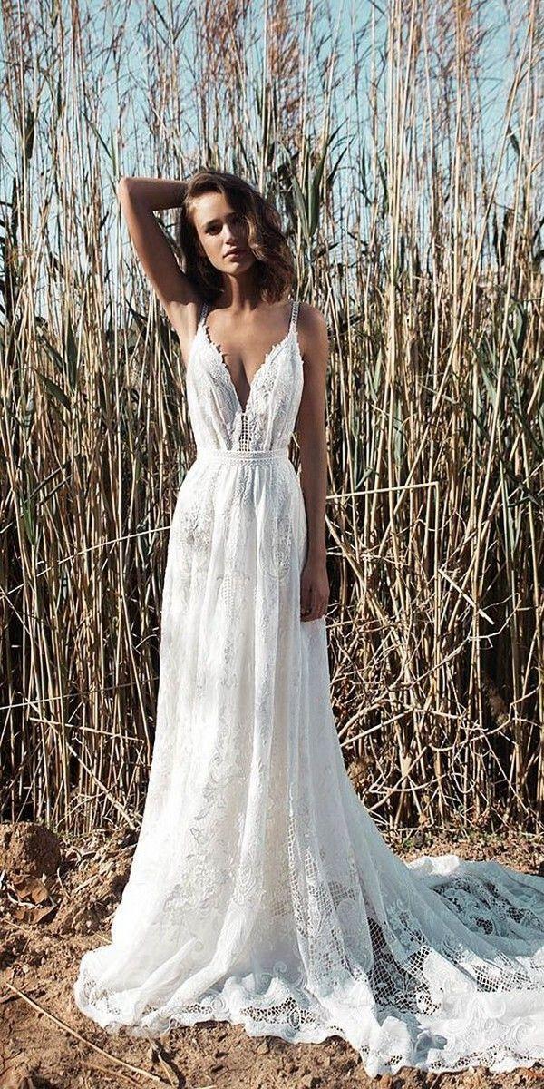 Top 15 Beach Wedding Dresses You'll Love for 2019 Brides