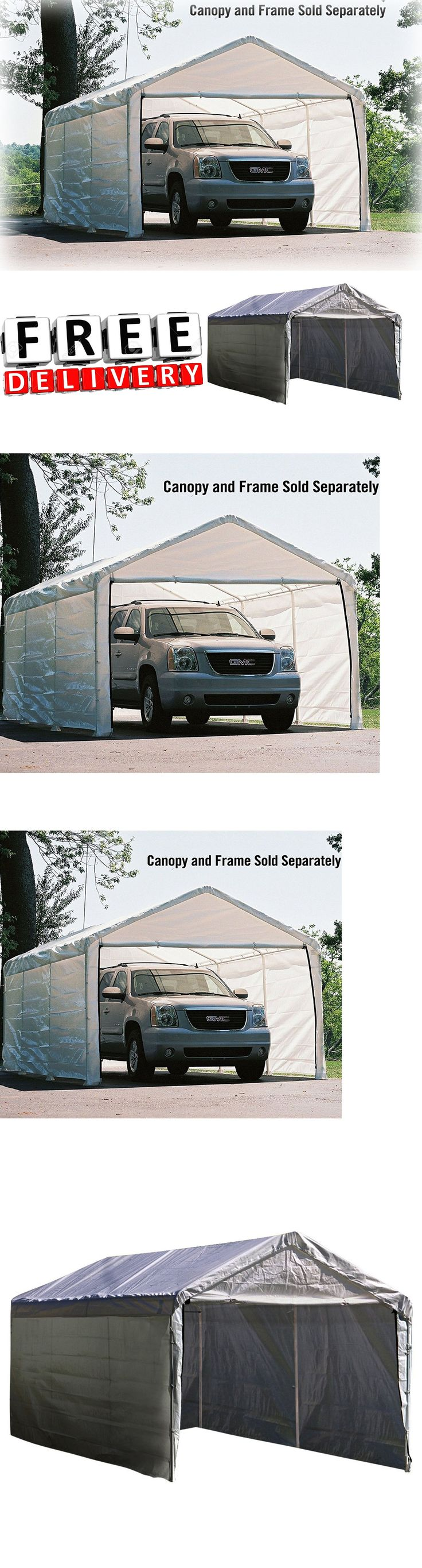 Awnings and Canopies 180992: Canopy Enclosure Kit 12X20 ...