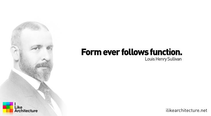 Form follows function essay