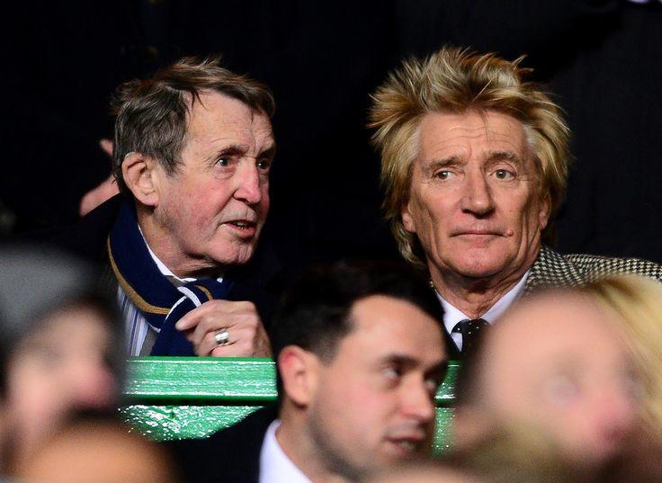 Rod Stewart Photos: Celtic FC v FC Salzburg - UEFA Europa League