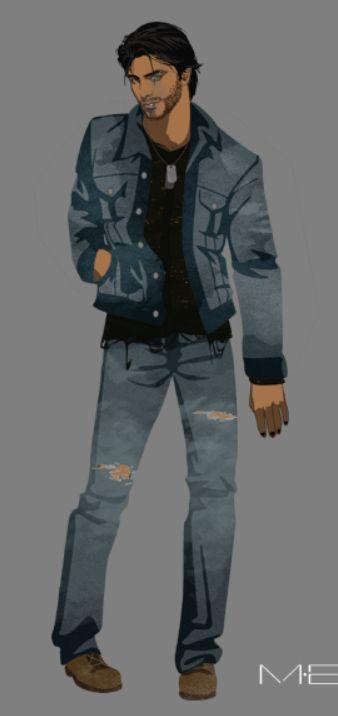 Ezra Jacob Laughton (Jones) // College (1)