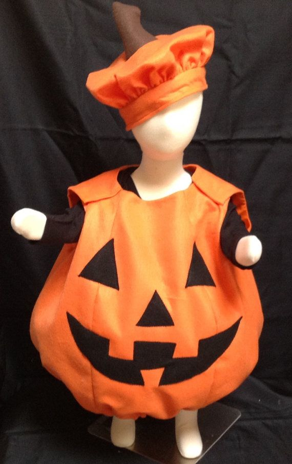 Pumpkin costume kids costume halloween costume baby