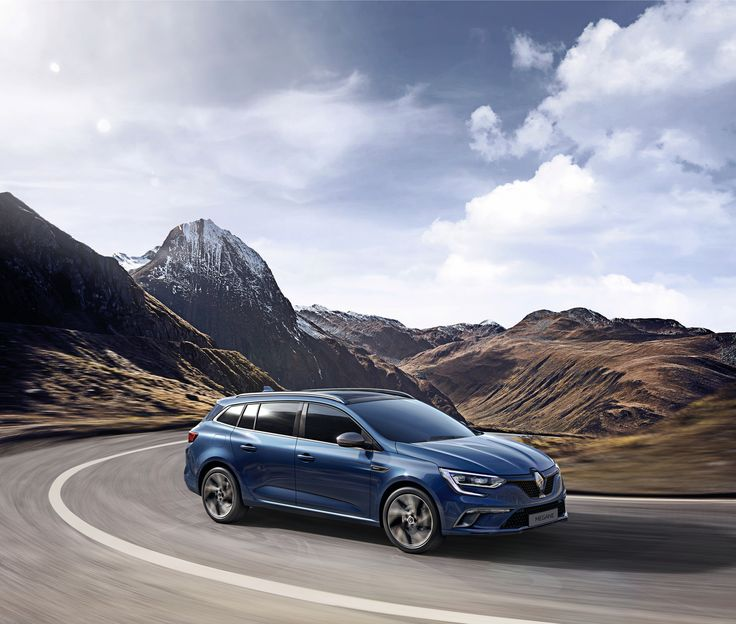 New #Renault #MEGANE #Estate  (c) Renault Marketing 3D Commerce