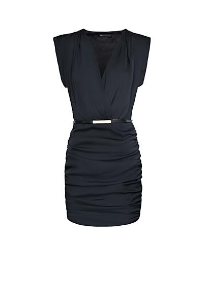 MANGO - Vestido efecto arrugado