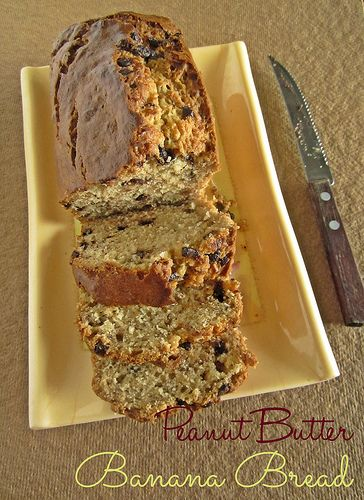 54 best breads images on pinterest cooking food pastries and box peanut butter banana bread with chocolate chips forumfinder Choice Image