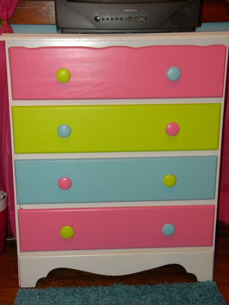 My girls bedroom colors are hot pink, teal, and lime green ...