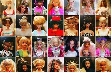 55 anni di Barbie in 55 foto - VanityFair.it BUON  COMPLEANNO BARBIE