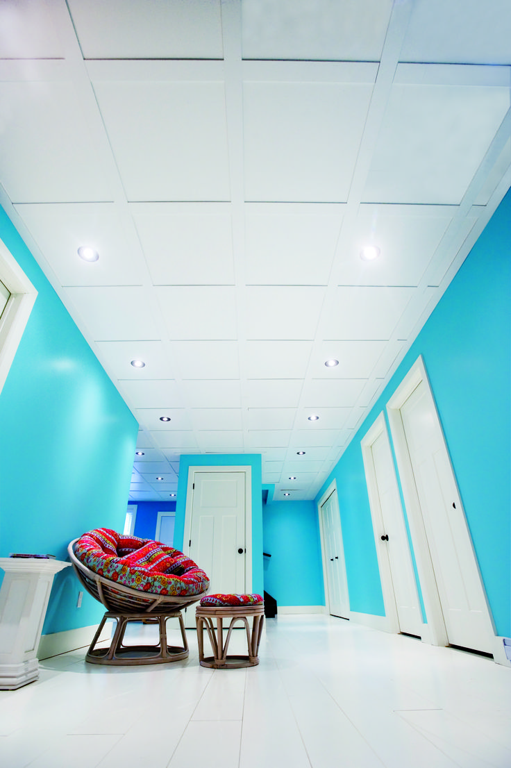 Plafond suspendu Embassy - blanc #plafond / Embassy Suspended Ceiling - white #ceiling