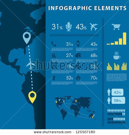 Stock Images similar to ID 99796706 - human infographic vector...