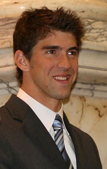 Michael Phelps.  MVP on the Olympic team.  Multiple record breaker, and number one swimmer on the team.
