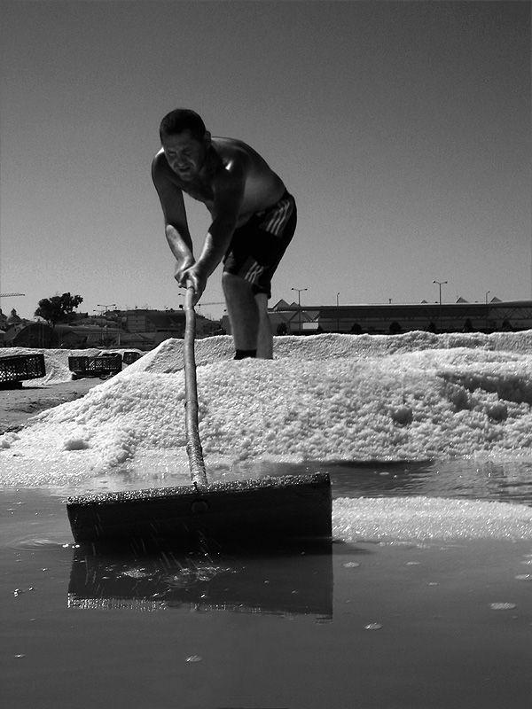 salt harvesting - Tavira, Algarve