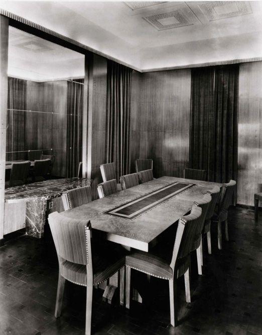 Canadian Art Deco: Maison Du0027Ernest Cormier, Salle à Manger, Montréal