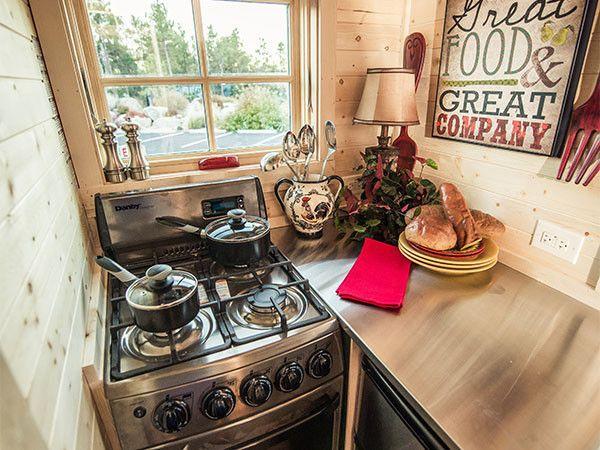 We love tiny kitchens
