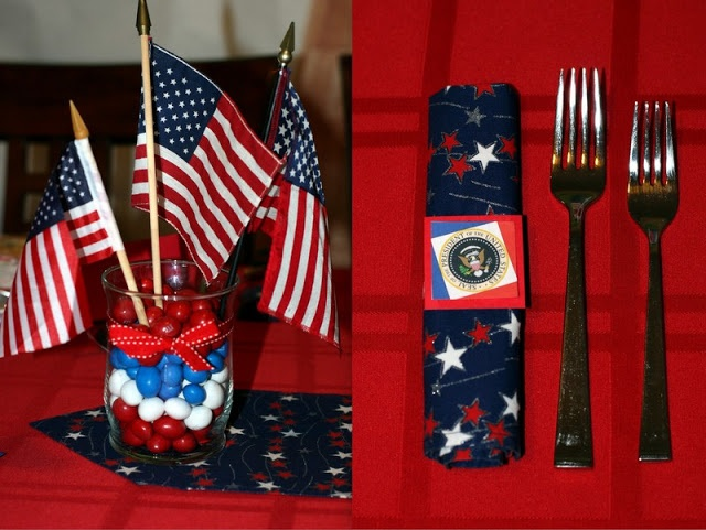Holiday Weekend Kickoff: President's Day Decor