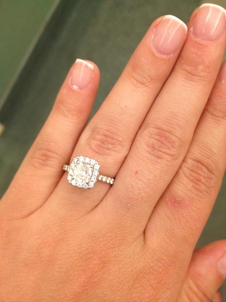 Danielle Jonas Engagement Ring | www.imgkid.com - The ...