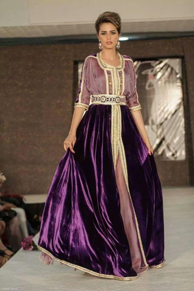 Nouveaux modèles de caftan marocain