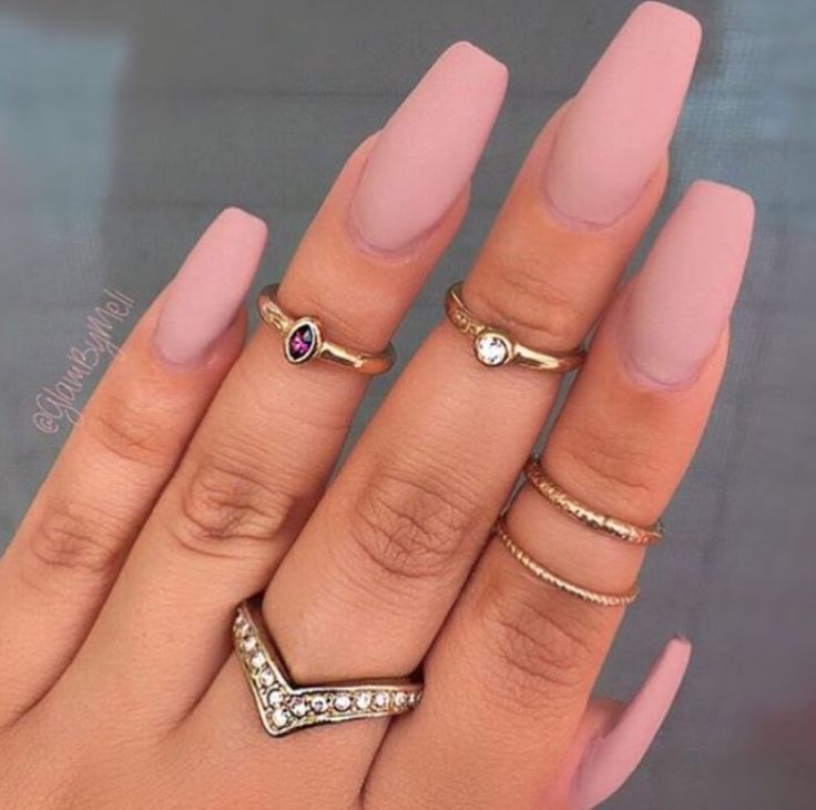 best 25 matte pink nails ideas on pinterest