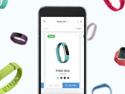 Mobile Shopping Interaction by Artiom Piatrykin