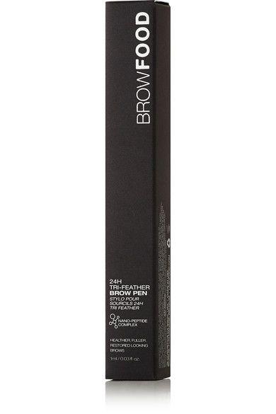 LashFood - 24h Tri-feather Brow Pen - Bold Dark Brunette - Dark brown - one size