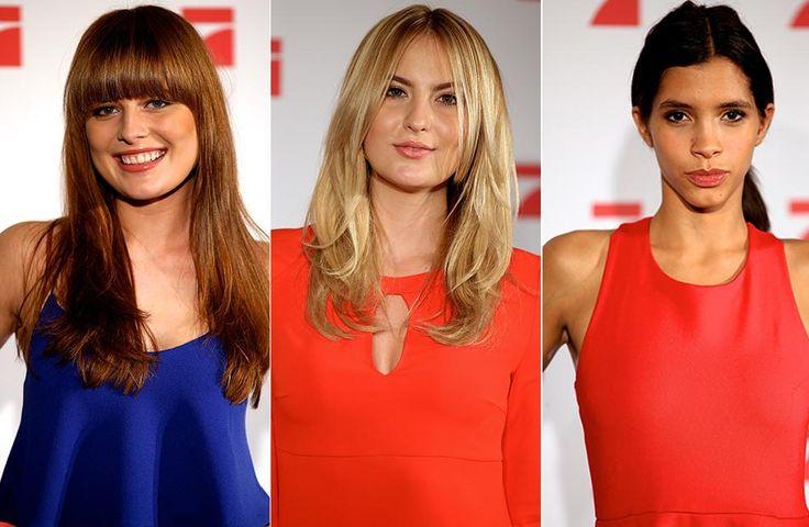 """Elena, Laura B. und Lara (v.l.) konnten die Jury bei """"Germany's next Topmodel"""" nicht von sich überzeugen."""