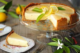 lieslicious: Triple-layer lemon cheesecake