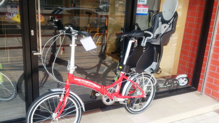 Raleigh with Frame Mount Child Seat