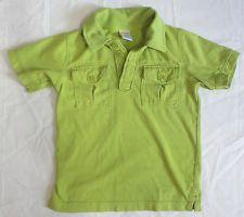 Gymboree Baby Boys Short-Sleeve Green Polo Collared Shirt Size 3 EUC