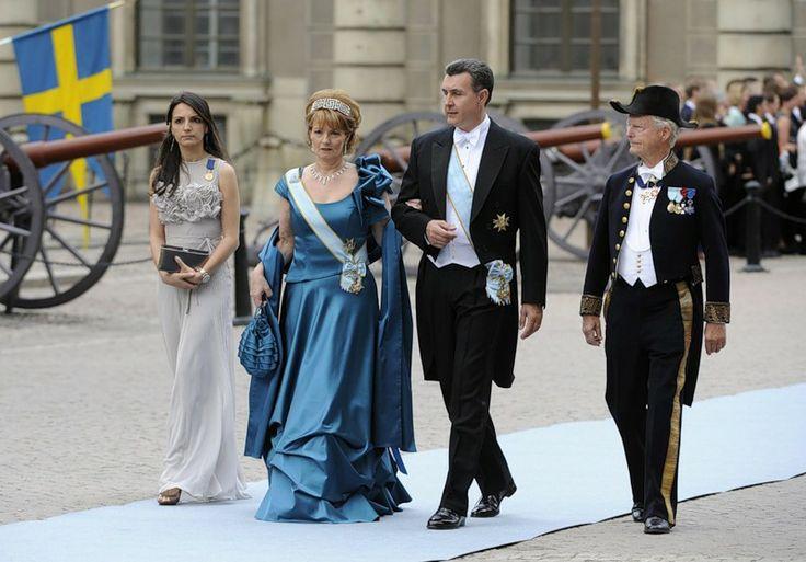 Наследная принцесса Румынии Маргарита и её супруг - принц Раду