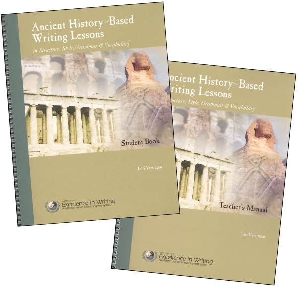 Ancient History-Based Writing Lessons [Student Book only]