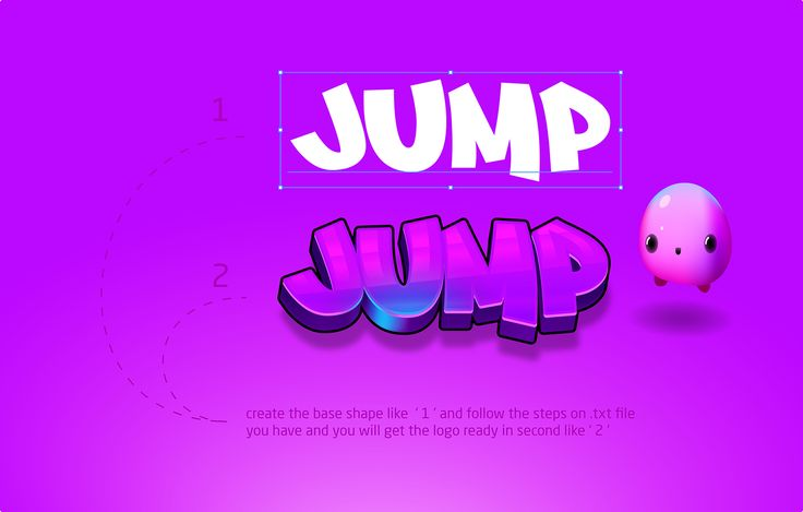 Jump set game graphic style on Behance