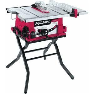 SKIL 3410-02 120-Volt 10-Inch Table Saw with Folding Stand - 2584-4200 Features: -Table saw.-Heavy duty folding stand for fast setup and easy transport.-Cut height capacity cuts through 4 times materials.-Self aligning rip fence for accurate measurem