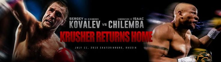 Sergey Kovalev vs. Isaac Chilemba Official Weigh-In Results