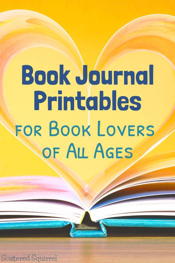 Book Journals are a wonderful way to remember what you liked and didn't like about the books you've read. These book journal printables are a great way to keep all those details together.