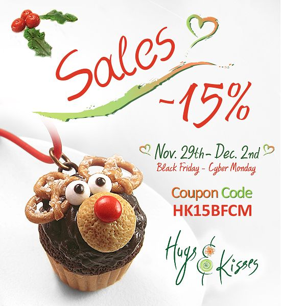 "★☆ SALE Nov. 29th ~ Dec. 2nd ""BLACK FRIDAY ~ CYBER MONDAY"" ☆★ Use Coupon Code► HK15BFCM and enjoy 15% discount on your order!"