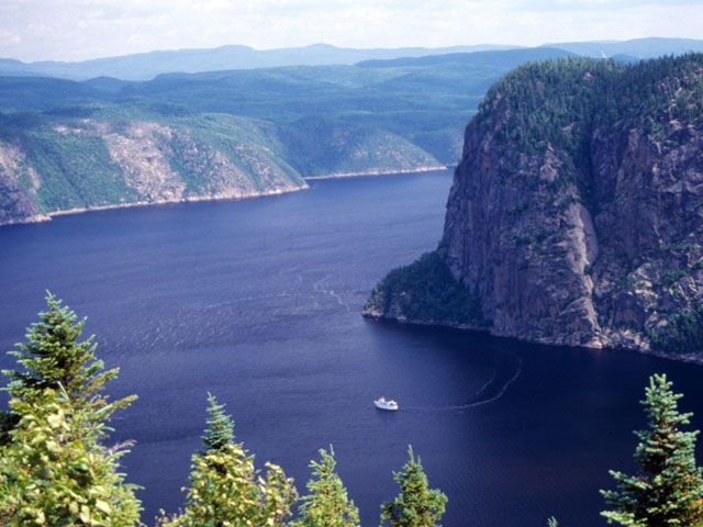 Saguenay Fjord! I'm looking forward to camping here in a couple weeks.
