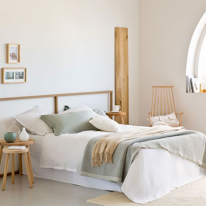 White Washed Satin Bed Linen