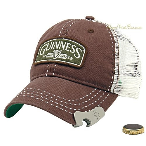 Bottle opener on the end of your hat! handy? obv!