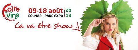 Programme de la Foire aux Vins d'Alsace 2013 à Colmar