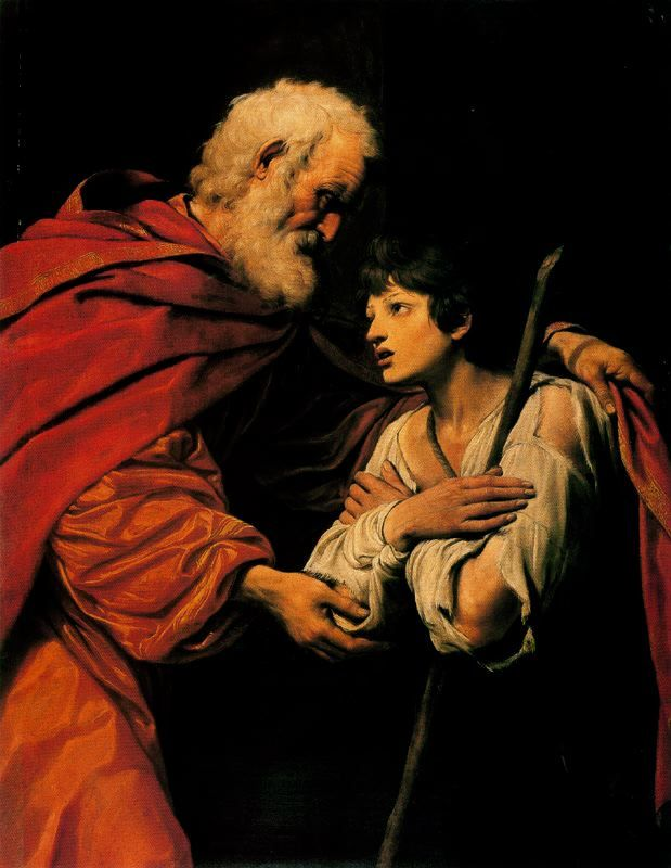 The Return of the Prodigal Son (Leonello Spada, Louvre, Paris)