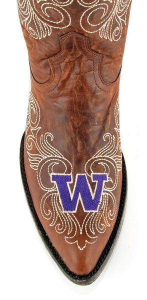 Gameday U Of Washington Ladies Leather Boots Huskies - oh wow