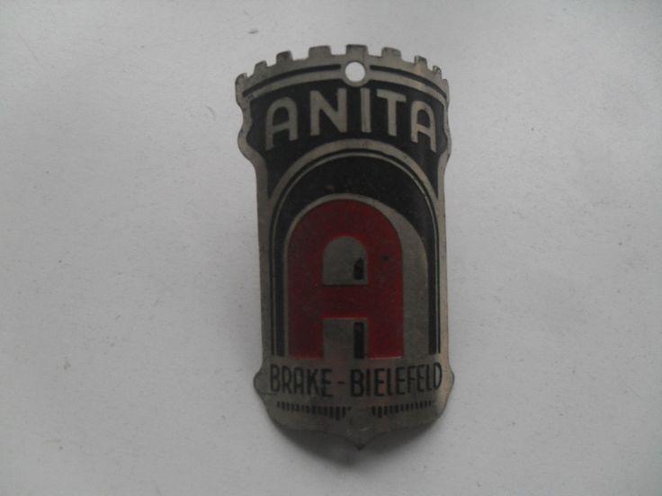 Anita Rixe Steuerkopfschild Emblem Fahrrad *original und ungebraucht* | eBay