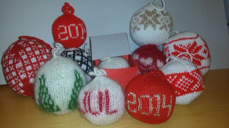 X-mas balls for family and friends