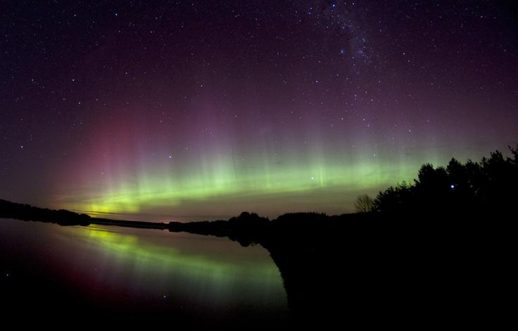 Auroras australes.-
