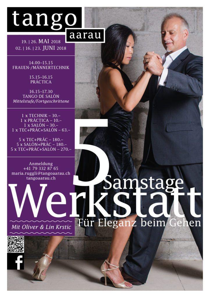 Workshops for Elegance When Walking - Aarau - May to June 2018 - Oliver Krstic