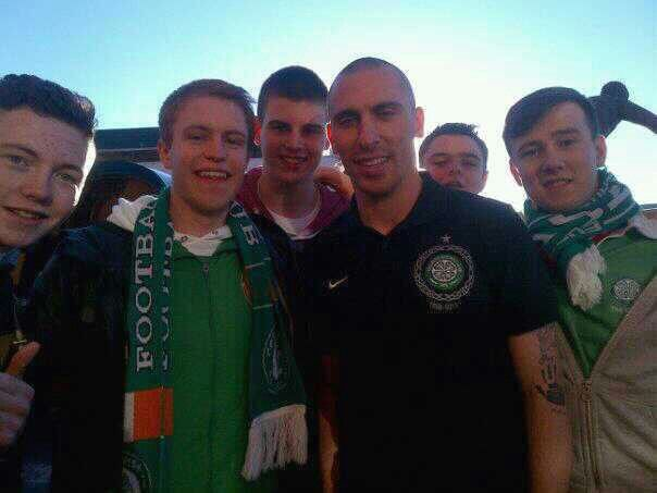 My nephew - scot brown celtic fc